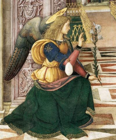 Erzengel Gabriel mit Lilie