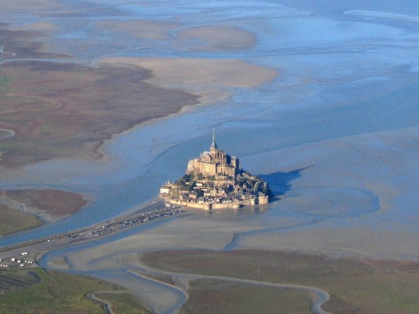 Mont Saint Michel Luftbild