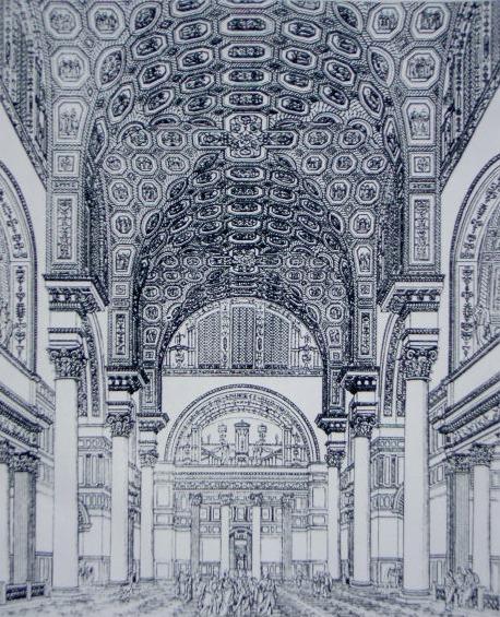 Caracalla-Thermen Innenansicht