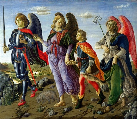 Erzengel Raphael mit Tobias