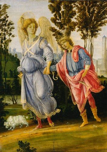 Erzengel Raphael und Tobias