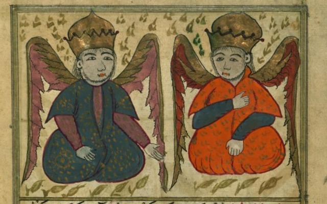 Todesengel Munkar und Nakir