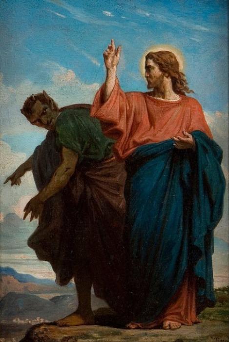Versuchung Jesu Luzifer