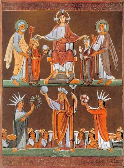 Kaiserkrönung Heinrich II.