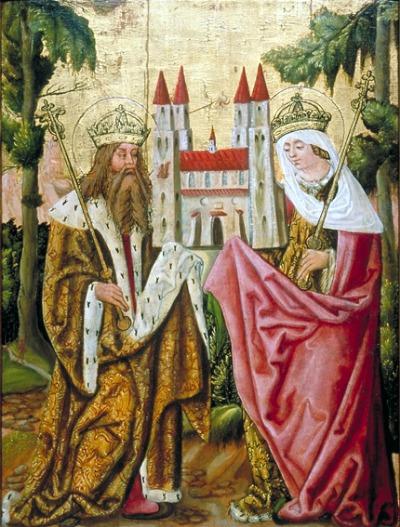 Kaiser Heinrich II. und Kunigunde