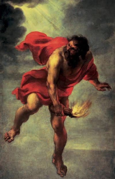 Prometheus mit dem Feuer