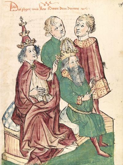 Otto III. Kaiserkrönung