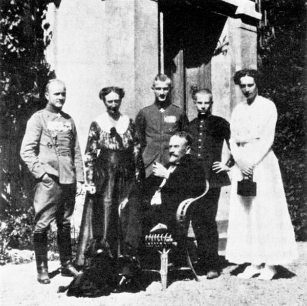 Familie Manfred von Richthofen