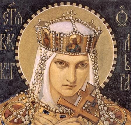 Heilige Olga von Kiew