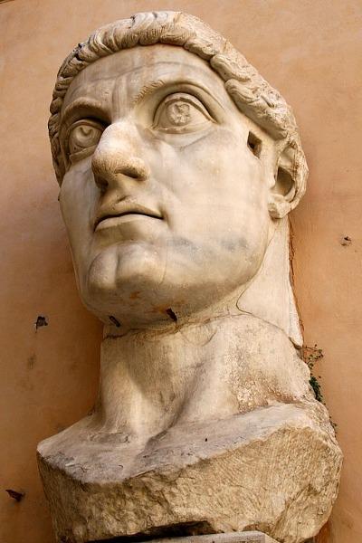 Kaiser Konstantin I. Kopf