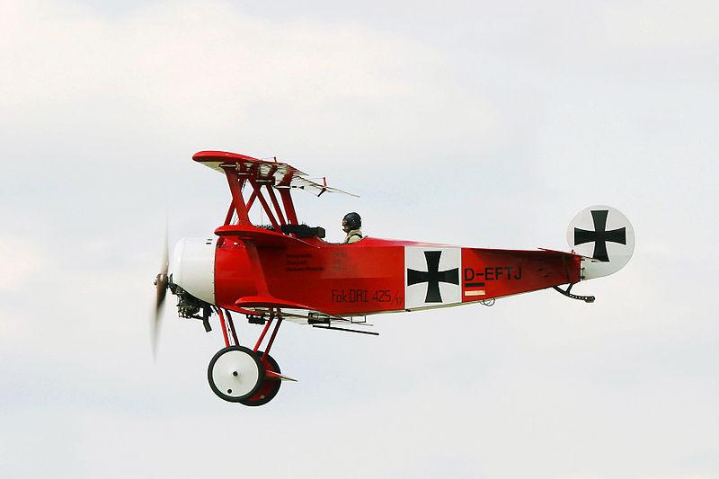 Rote Fokker DR.I