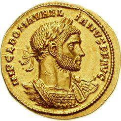 Kaiser Aurelian Münze