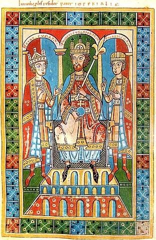 Kaiser Friedrich I. Barbarossa