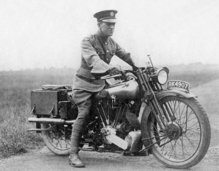 Lawrence von Arabien Motorrad