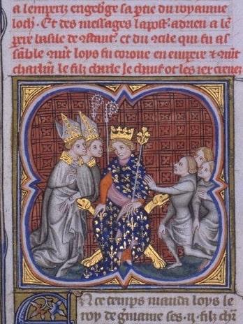 König Ludwig der Deutsche