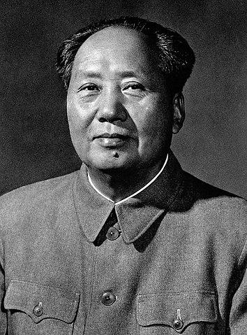 Mao Zedong Portraitbild 1959