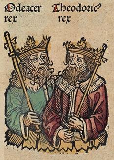 Theodrich und Odoaker