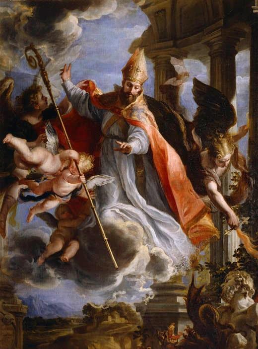 Augustinus von Hippo Gemälde
