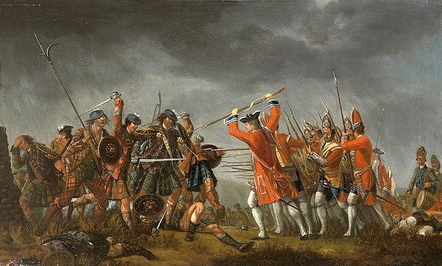 Schlacht von Culloden Gemälde