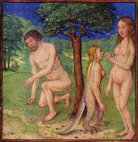Lilith mit Adam und Eva