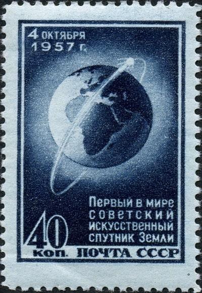 Sputnik 1 Briefmarke